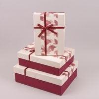 Комплект коробок для подарков 3 шт. 41702