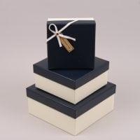 Комплект коробок для подарков 3 шт. 41704