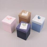 Коробка для подарков микс 6 шт. (цена за 1 шт.) 41708