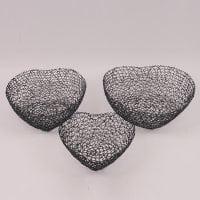 Комплект металевих фруктовниць Серце 3 шт. 41712