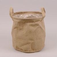 Кашпо из мешковины для декоративных растений 41717