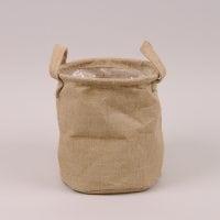 Кашпо из мешковины для декоративных растений 41718