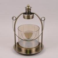Подсвечник-фонарь металлический H-35 см. 41741