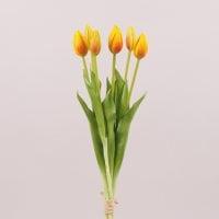Букет Тюльпанов из латекса оранжевый 72461
