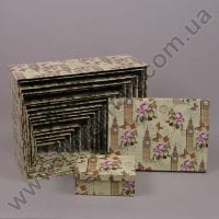 Комплект коробок для подарков 18 шт 24173