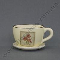 Горшок керамический Чашка К1.220.17