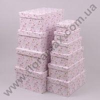 Комплект коробок для подарков 10 шт 24348