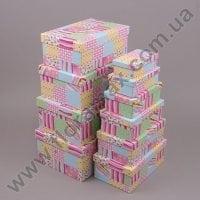 Комплект коробок для подарков 10 шт 24439