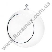 Шар стеклянный подвесной D-13 см. 26079