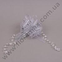 Бант для упаковки серебряный 25547
