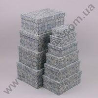 Комплект коробок для подарунків 10 шт 24371