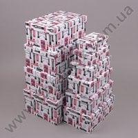 Комплект коробок для подарунків 10 шт 24440