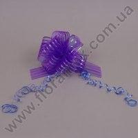 Бант для упаковки фиолетовый 25548