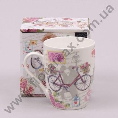 Фото Чашка керамическая Велосипед 0,31 л. 28149