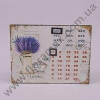 Календарь металлический 24280