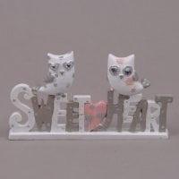 Напис Sweet heart з совами 26141