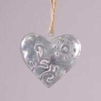 Підвіска металева Серце (6 шт) 21838