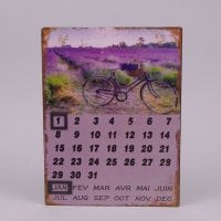 Календарь металлический 24266