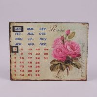 Календар металевий 24273