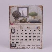 Календарь металлический 24277