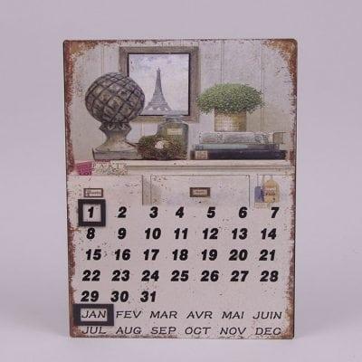 Фото Календарь металлический 24277