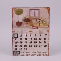 Календар металевий 24278