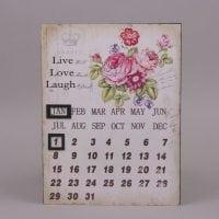 Календарь металлический 9065