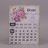 Календарь металлический 9036