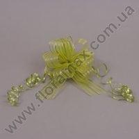 Бант для упаковки оливковый 25549