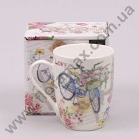 Чашка керамическая Велосипед 0,31 л. 28150