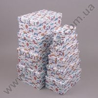 Комплект коробок для подарков 10 шт 24429