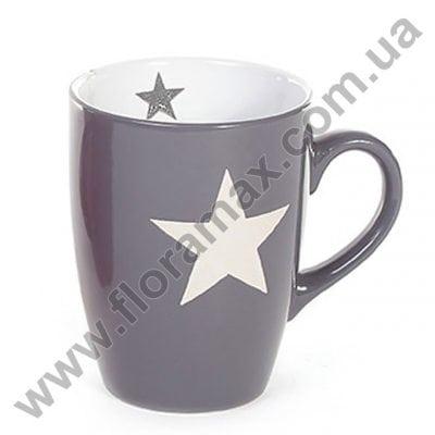 Фото Кружка керамическая Звезда 0,33 л. 28196