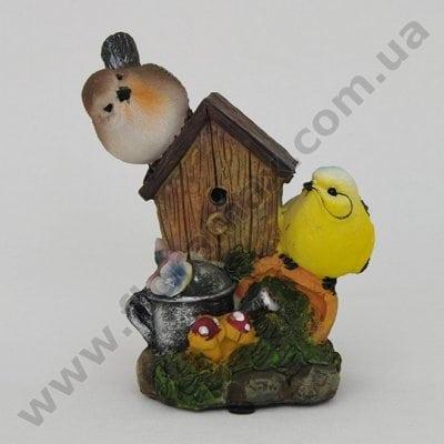 Фото Садова фігурка зі звуком Пташки К4.047