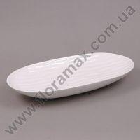 Ваза керамическая белая 24812