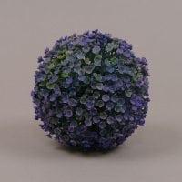 Куля декоративна зелено-фіолетова D-13 см. 70002