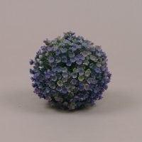Куля декоративна зелено-фіолетова D-10 см. 70006