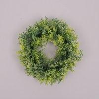 Вінок декоративний світло-зелений 70592