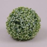 Куля декоративна світло-зелена D-16 см. 70630